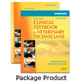 Mccurnin's Clinical Textbook for Veterinary Techniciansᅠ - Textbook and Workbook Package,7 Ed